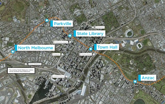 Bouygues construction réalisera le tunnel du métro de Melbourne
